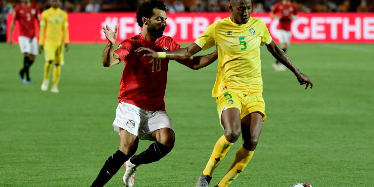 Divine Lunga Mohammed Salah Warriors vs Egypt
