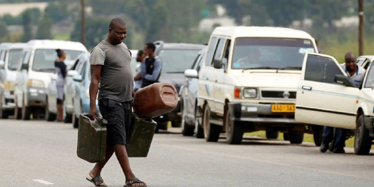 Fuel crisis South Africa unrest