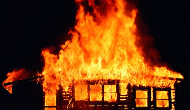Man Sets Grandmother's House On Fire Accusing Tenants Of Trying To Steal It