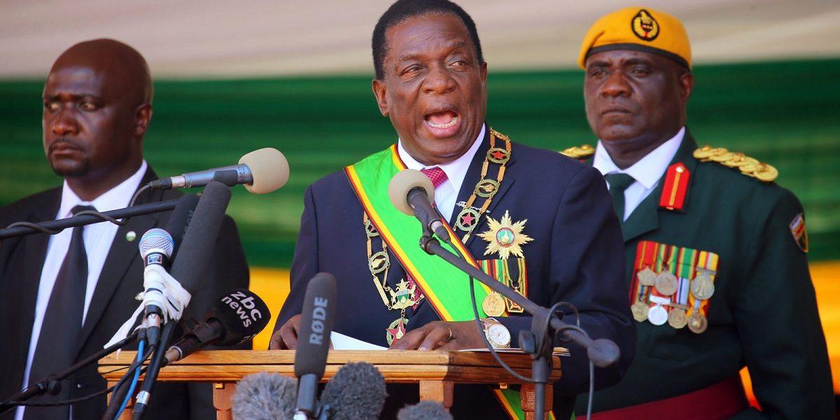 Mnangagwa inauguration renaming streets blocked