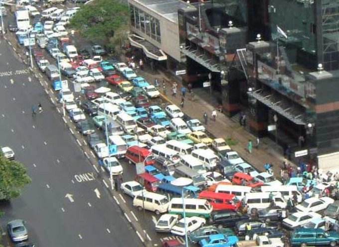 Fuel Queue services shortages zimbabwe