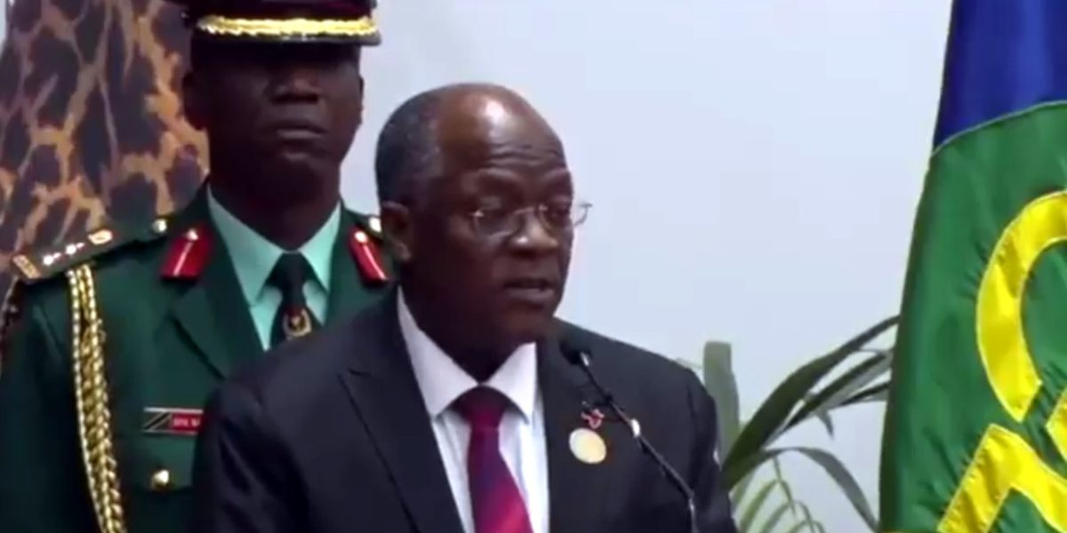 John Magufuli SADC Address