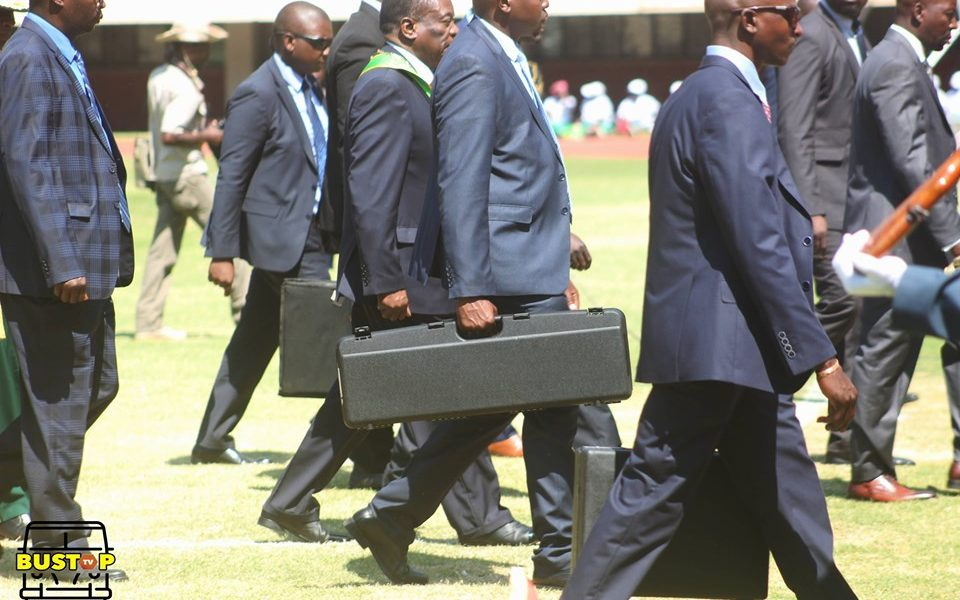 2 arrested attempting mnangagwa's get into residency