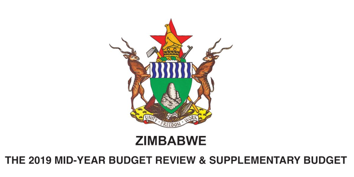 FULL DOWNLOAD: Zimbabwe 2019 Mid-Year Budget Review & Supplementary