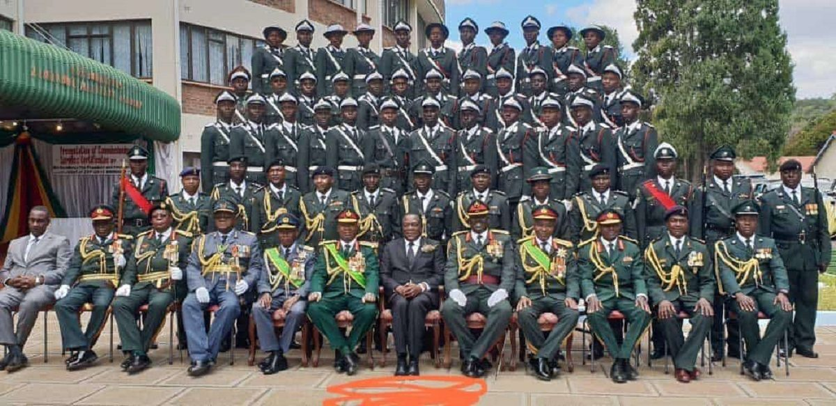 Zimbabwe National Army with Emmerson Mnangagwa extorting investor yearns retirement emotionally tortured commander retired army general life in danger examination cheating soldiers