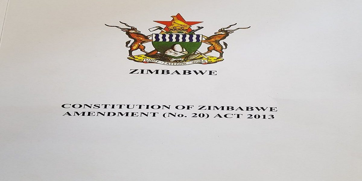 Constitution of Zimbabwe