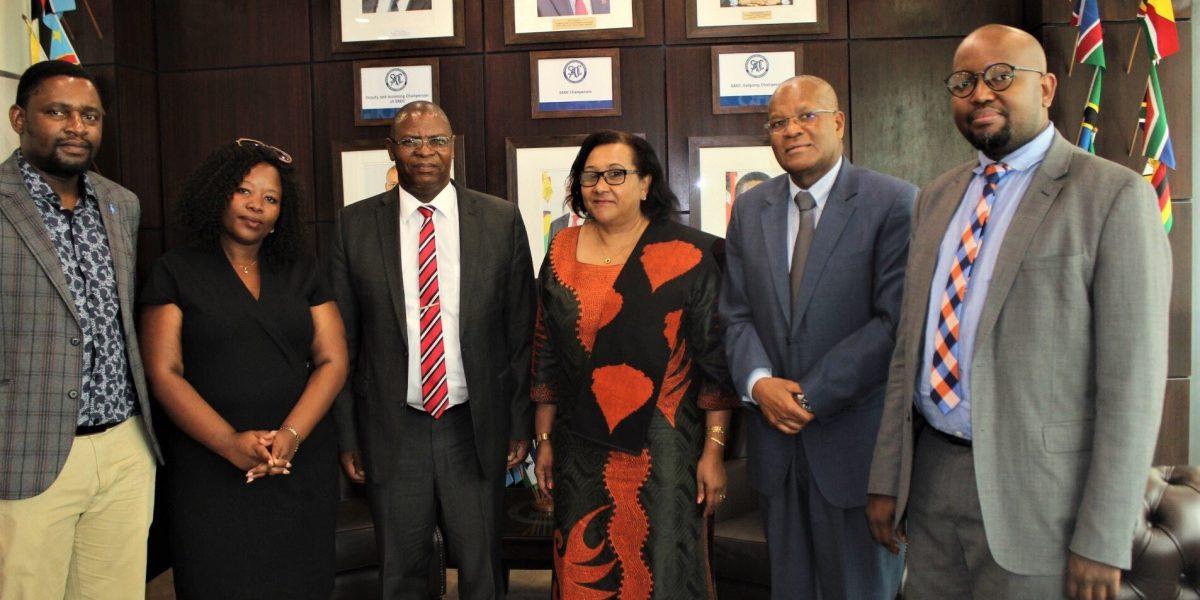 Elias Mpedi Magosi Replaces Dr Stergomena Lawrence Tax As Executive Secretary Of SADC.