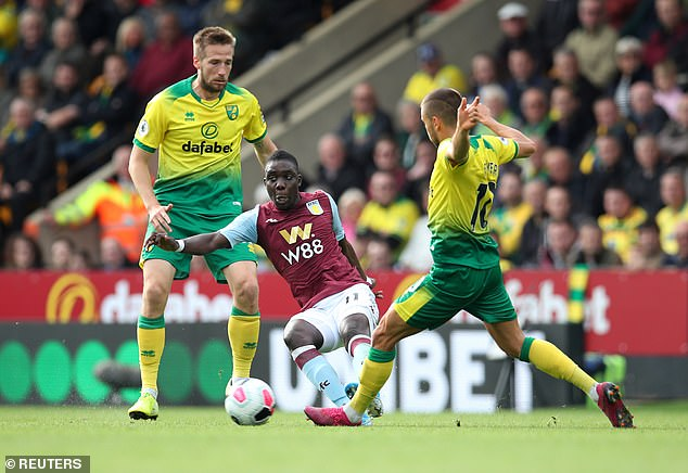 Norwich nakamba back in Premier League Muskwe Score