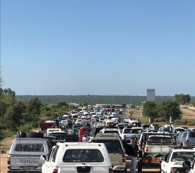 Beitbridge Border Post Traffic Congestion