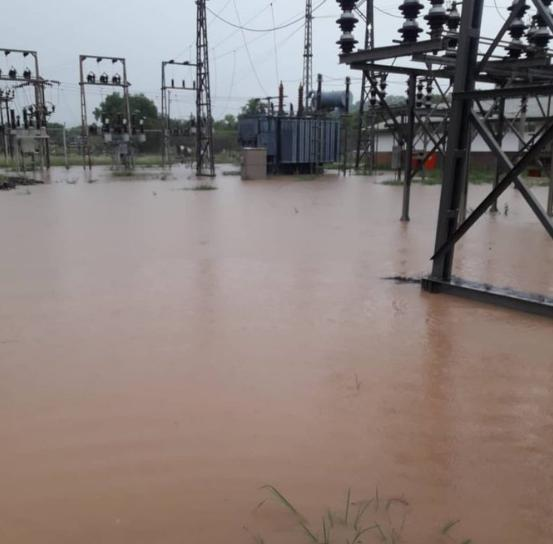 Hwange Power Station Floods