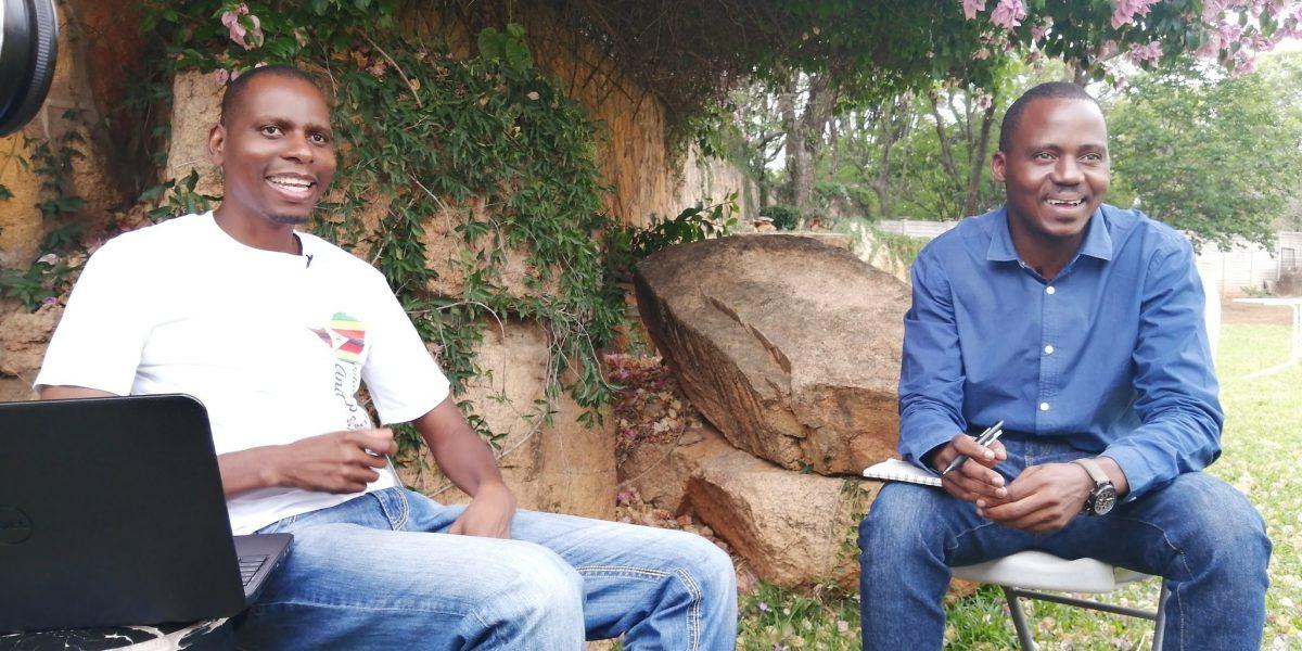 Khaliphani Phugeni and Zenzele Ndebele