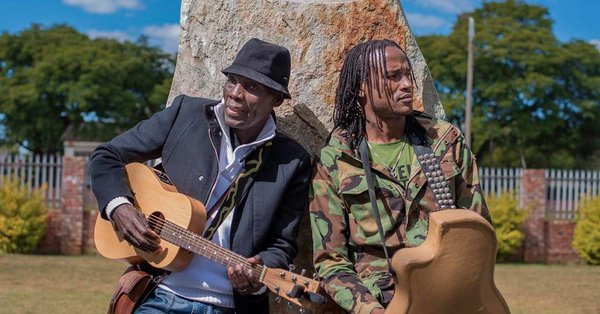 Oliver Mtukudzi with Jah Prayzah