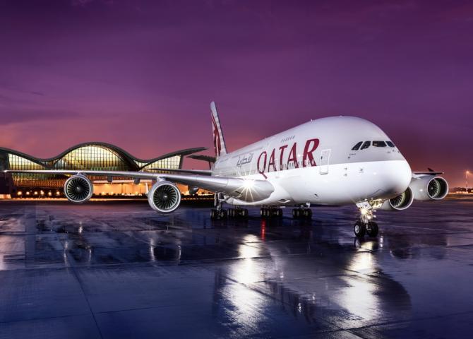 Qatar Airways first time Zimbabwe