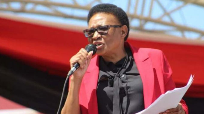 MDC Alliance Top Official Thabitha Khumalo MDC Alliance Commission of Inquiry Accuses Khumalo Of Fanning Factionalism - Report