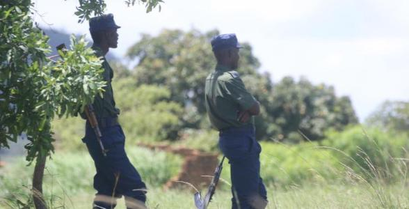 ZRP Police Officer With A Gin