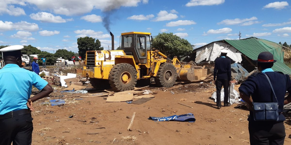 Demolition Of Illegal Structures