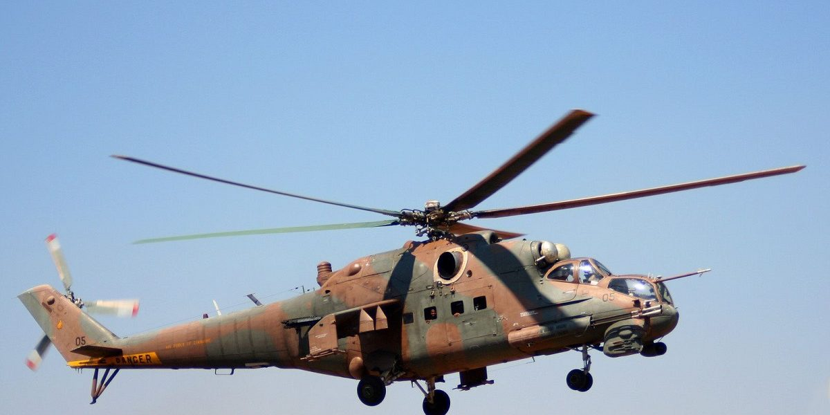 Army Helicopter Crashes Ruwa