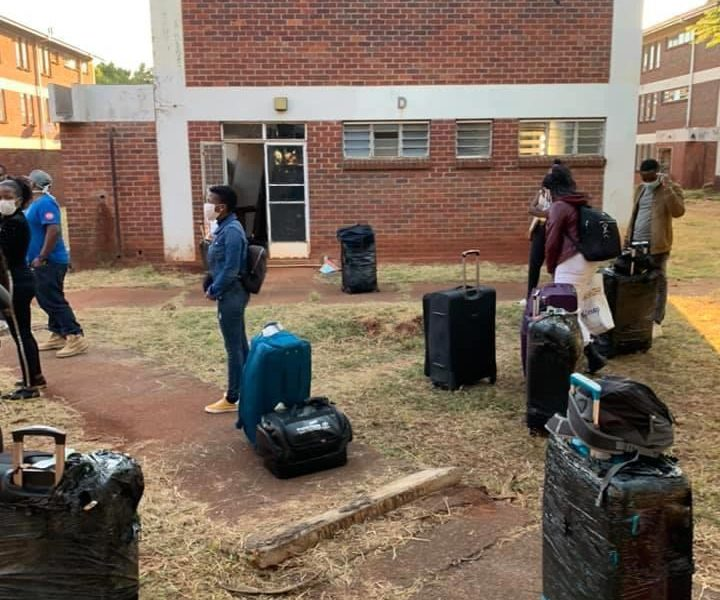 RETURNEES FROM UK AT BELVEDERE COLLEGE HARARE