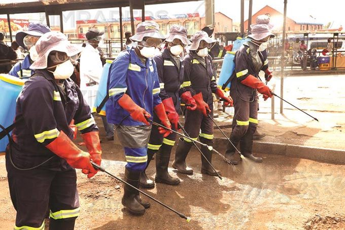 Harare City Council Workers