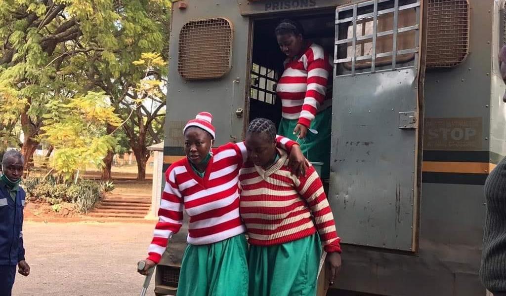 Joana Mamombe has challenged her detention.