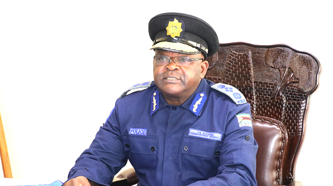 Godwin Matanga Police Citizens Partners in fighting crime
