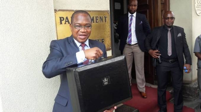 Professor Mthuli Ncube mid-term budget review