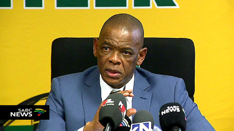 Ace Magashule suspensed suspends Cyril Ramaphosa ANC