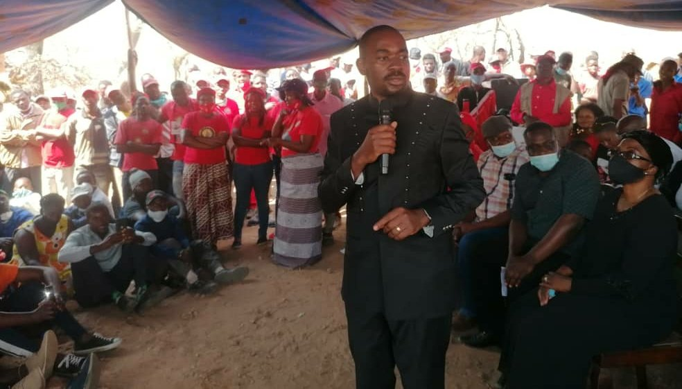 Nelson Chamisa - Mirriam Mushayi Burial