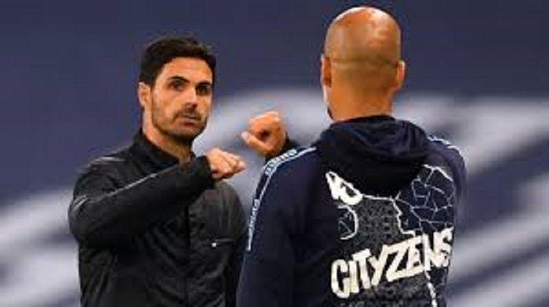 Arterta and Guardiola