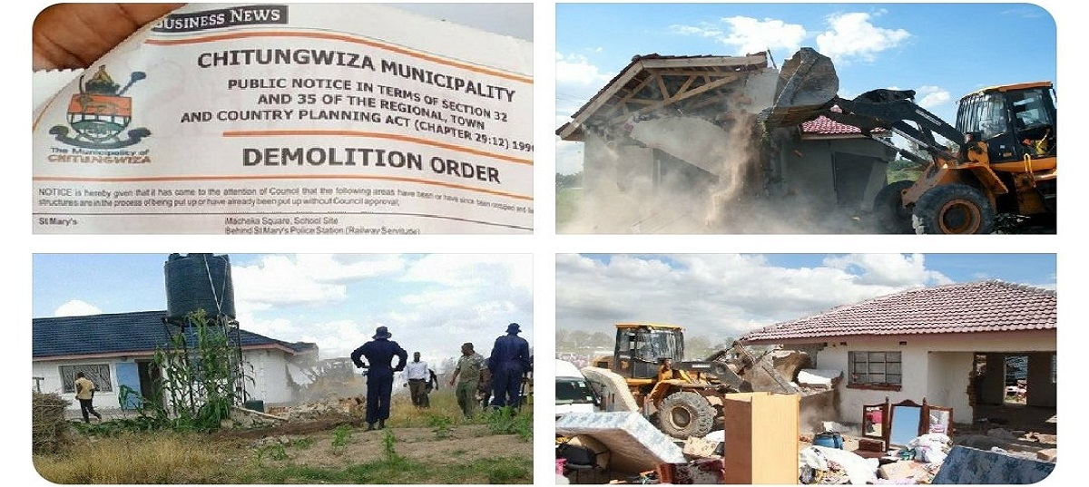 Chitungwiza demolition order