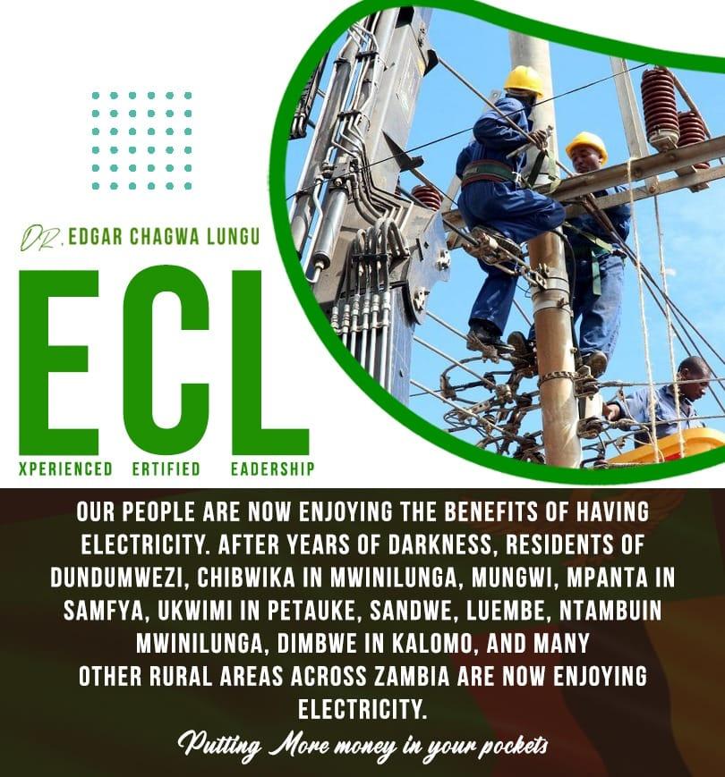 Edgar Lungu Electricity Provision