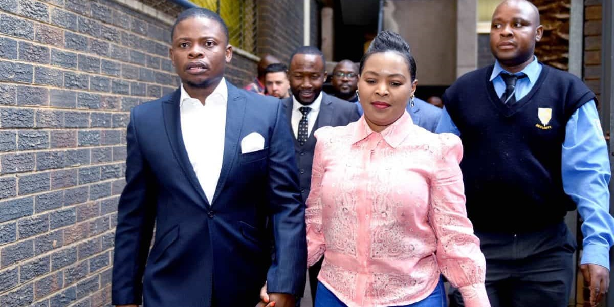 SHEPHERD BUSHIRI AND MARY BUSHIRI