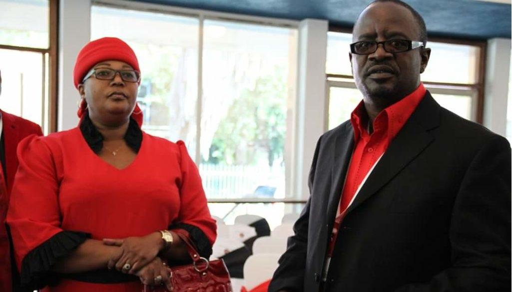 Thokozani Khupe and Abednico Bhebhe