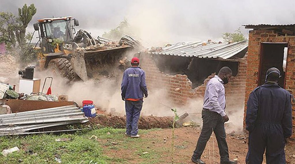 House demolitions Buying Residential Stands Zimbabwe