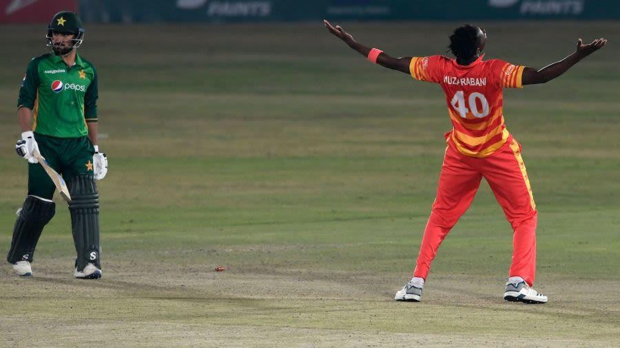 Blessing Muzarabani cricket pakistan zimbabwe