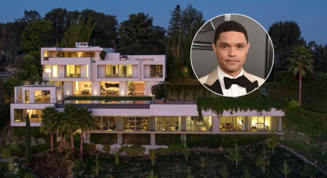 Trevor Noah Bel Air Mansion