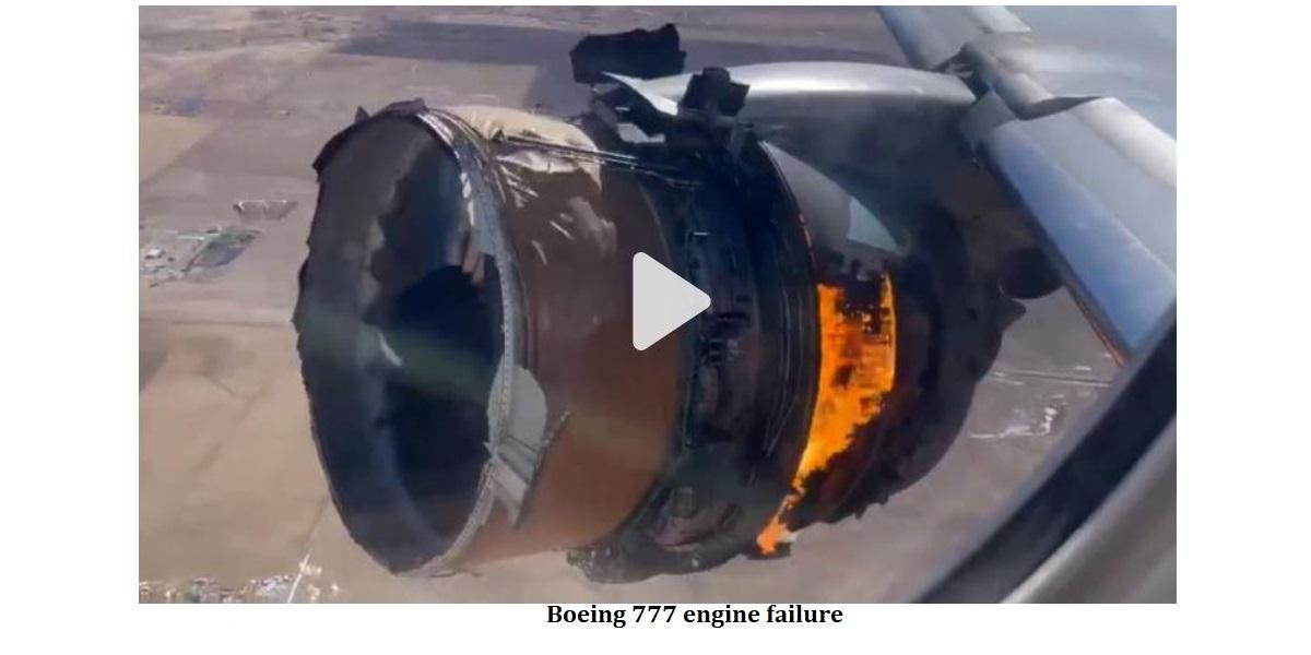BOEING 777 ENGINE FAILURE