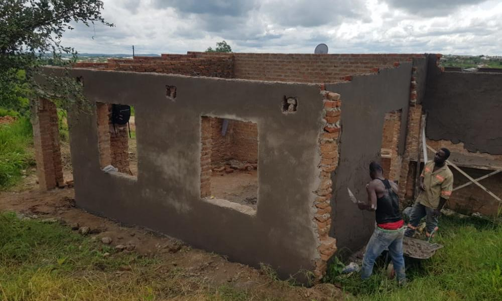 Lovender Chiway's Home built by MDC Alliance