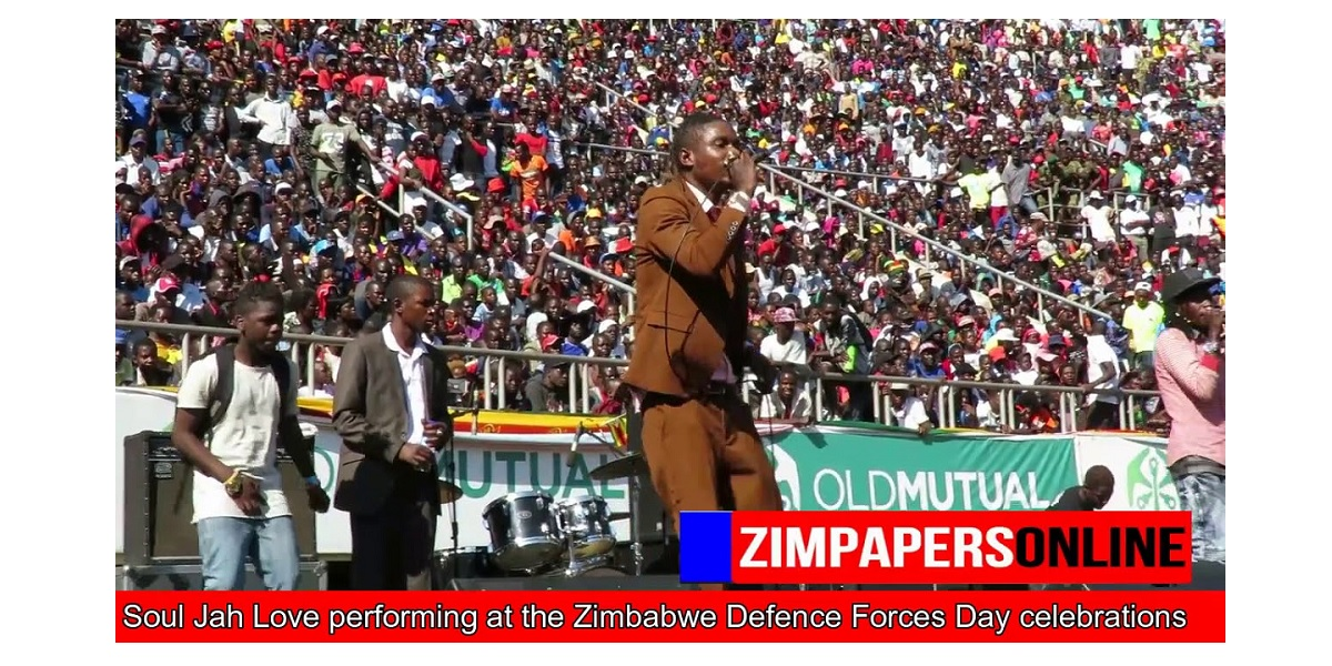 SOUL JAH LOVE FUNERAL PERFORMING AT THE ZIMBABWE DEFENCE FORCES DAY