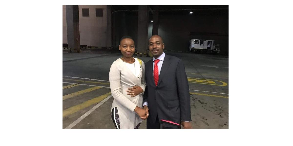 SUSAN MUTAMI AND NELSON CHAMISA Temba Mliswa's ex-lover