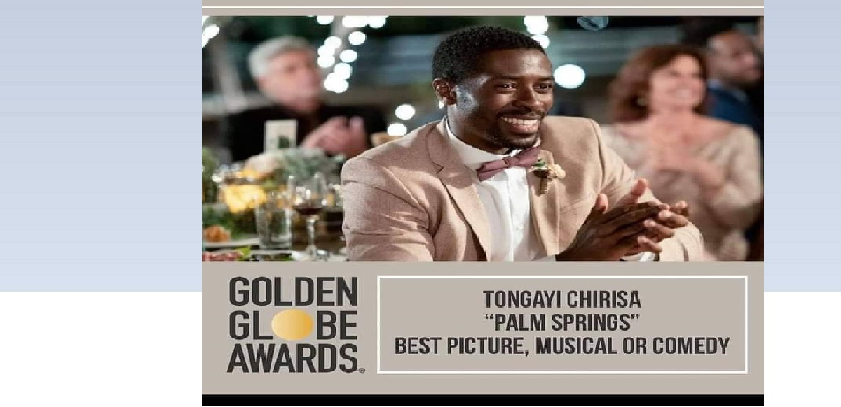TONGAYI CHIRISA PALM SPRINGS GOLDEN GLOBE AWARDS