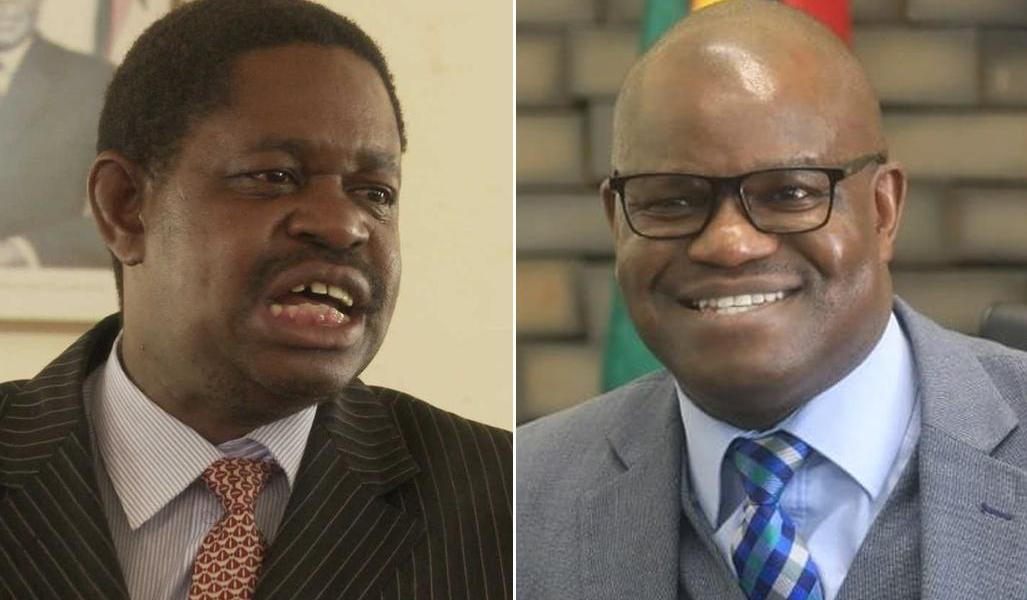 The Mangwana brothers, Paul (left) and Nick Ndavaningi (right)