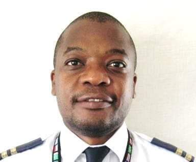 Air Zimbabwe pilot Kevin Chituku