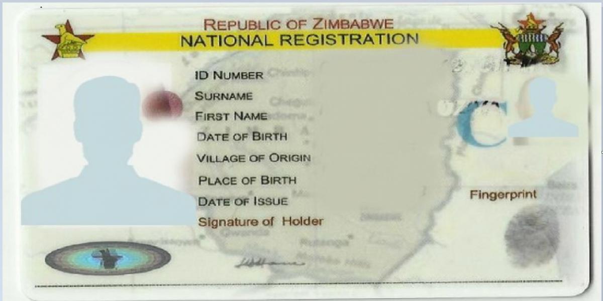 IDENTITY CARD ID CITIZENSHIP GUKURAHUNDI IMMIGRANT
