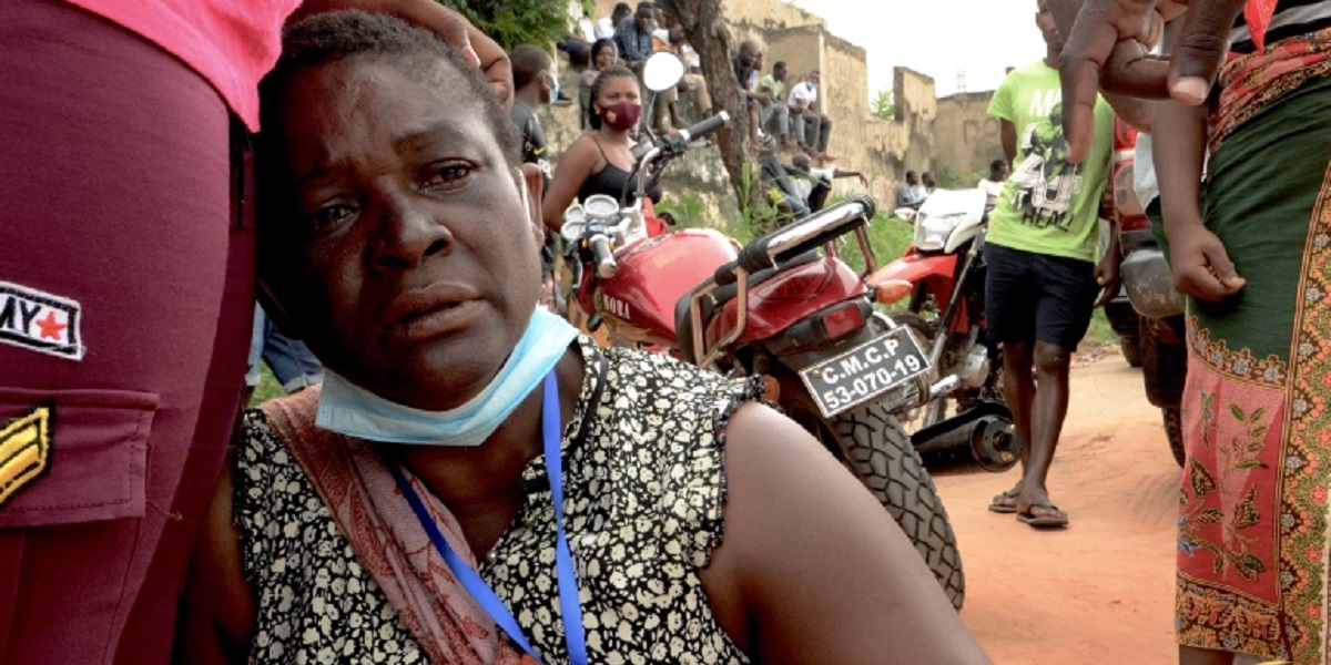 MOZAMBIQUE CONFLICT ISLAMIC INSURGENCY SURVIVORS HORROR humanitarian crisis