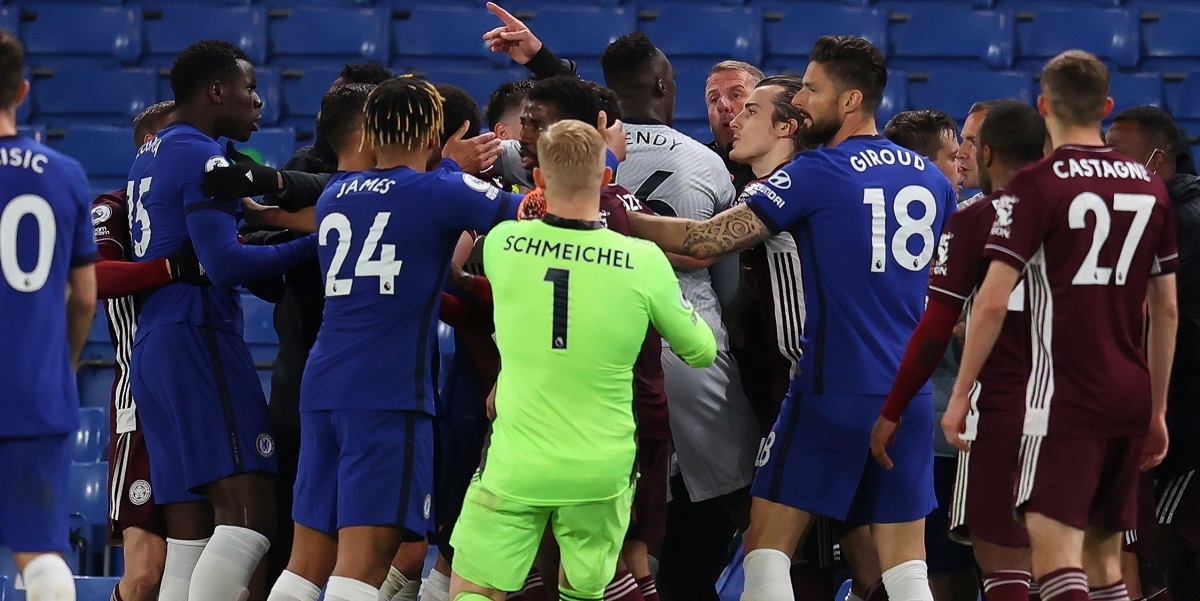 CHELSEA LEICESTER BRAWL points deduction