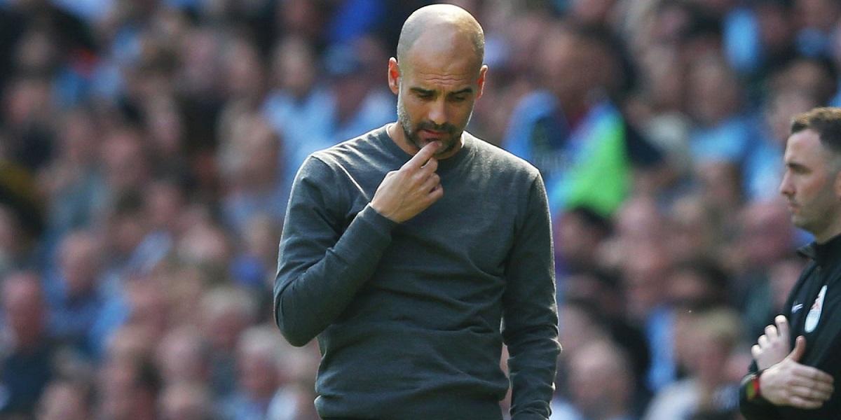 PEP GUARDIOLA Manchester City Champions League