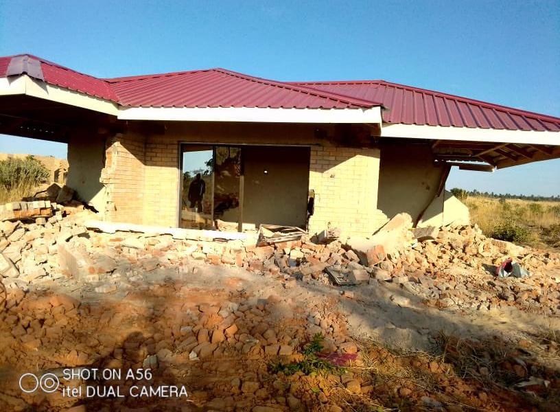 Diamond Park - Melfort teacher demolished turf wars zanu pf mzembi done in error demolitions
