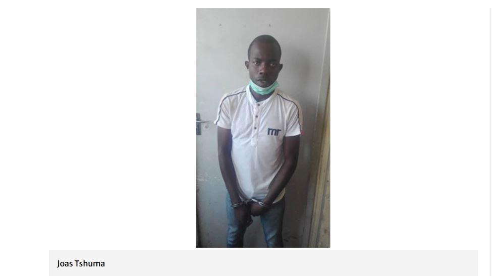 JOAS TSHUMA POLICE IMPERSONATOR HWANGE Rapist