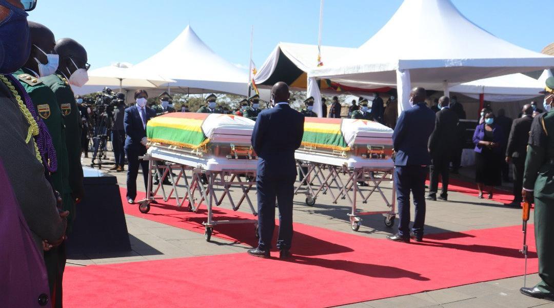 Edzai Chimonyo and Michael Chakabva Burial